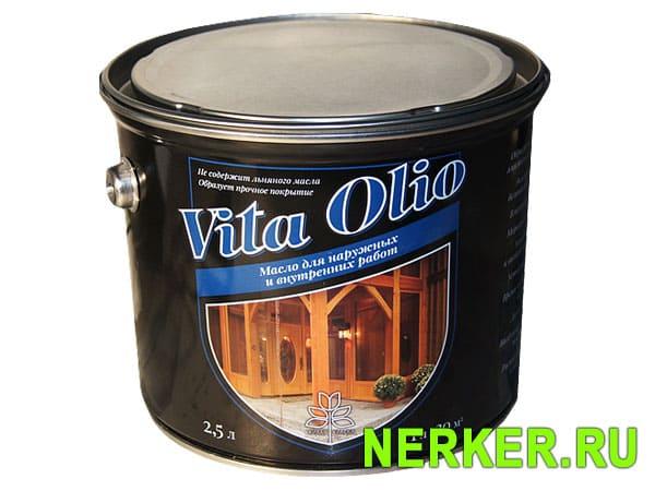 Vita Olio масло для наружных и внутренних работ