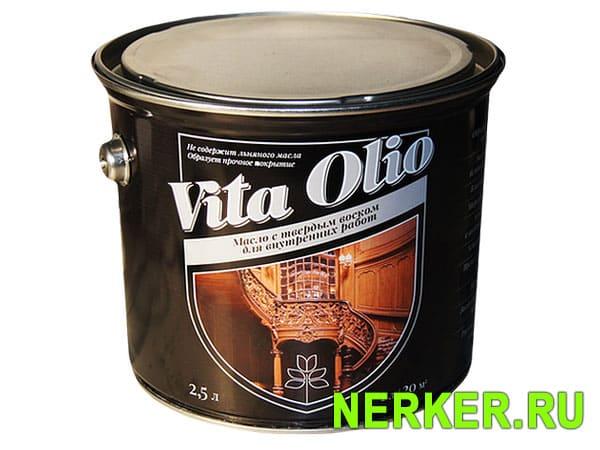 Vita Olio масло с твердым воском для внутренних работ
