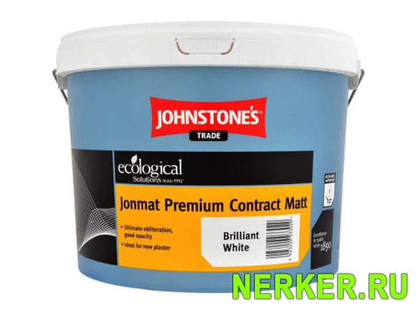 Johnstones Jonmat Matt Emulsion Brilliant White краска