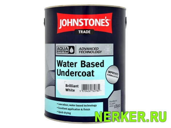 Johnstones Aqua Water Based Undercoat Водный грунт