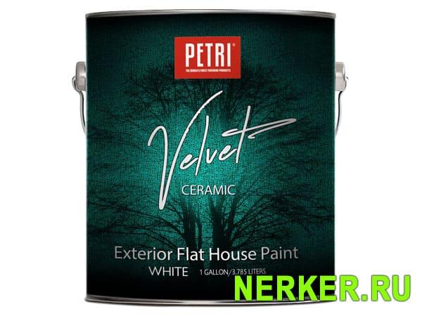 Petri Velvet Exterior велюровая фасадная краска
